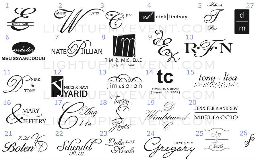 Custom Name Monogram Design Tips