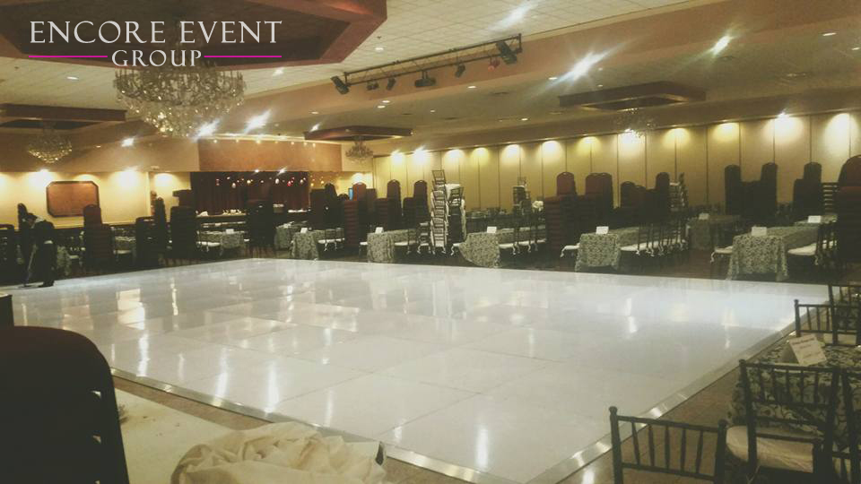 Michigan Black Amp White Dance Floor Rentals Timeless Look