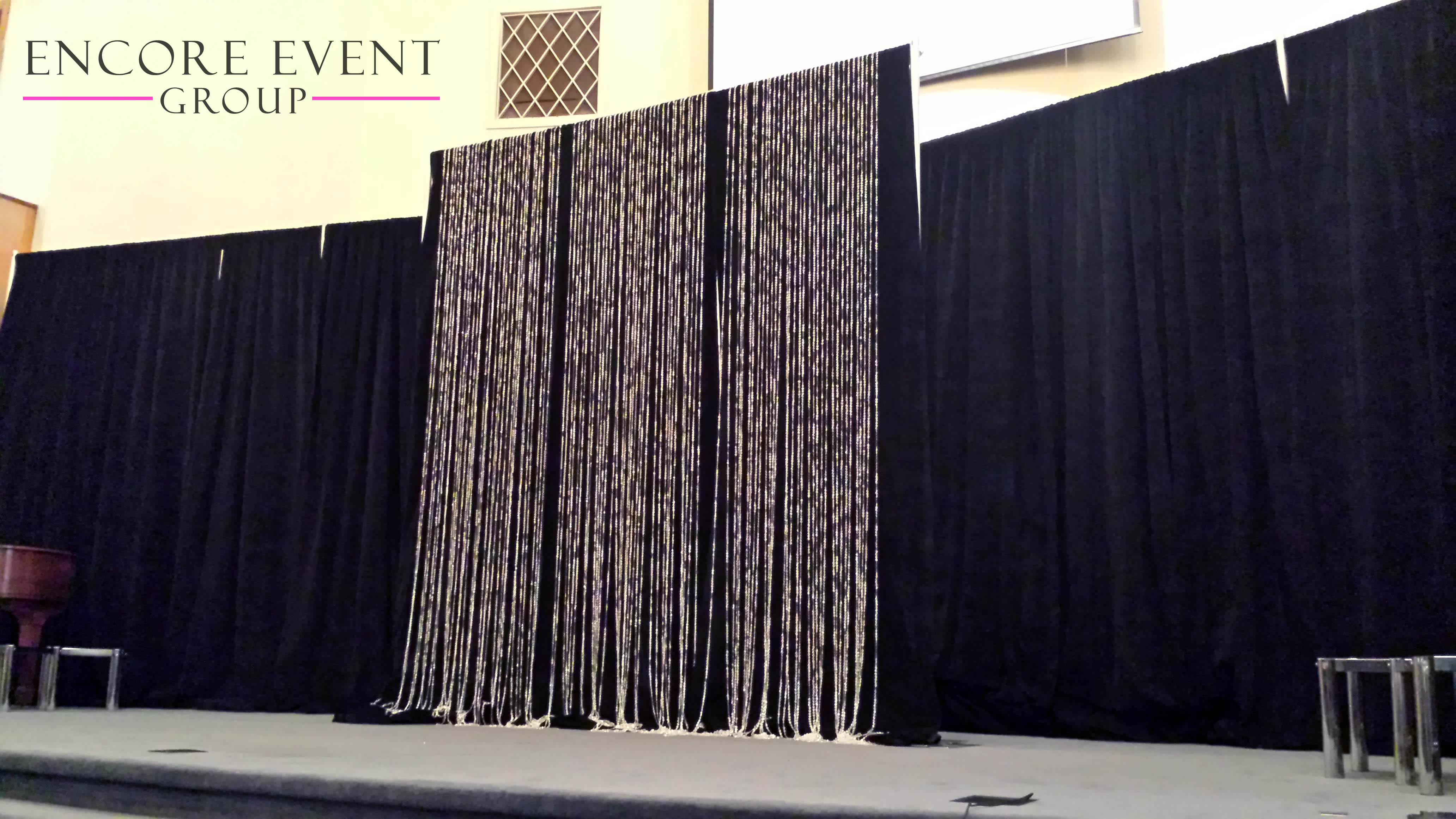 drapes table drape cherry centrepiece and custom weddings draping blossom pipe