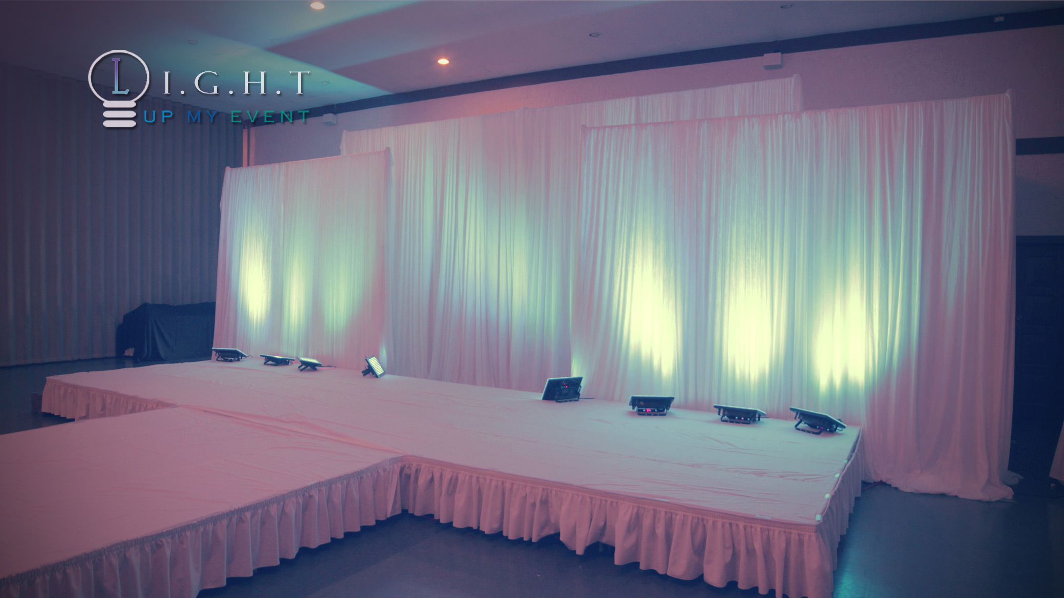 Bed Drape Fashion Show Runway Draping Imperial House Clinton Twp
