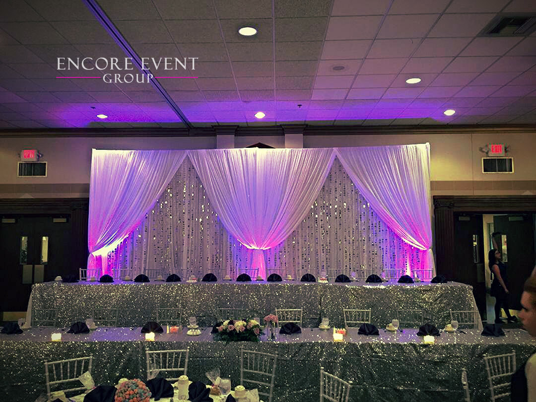 Silver Bead Draping St Mary S Cultural Center Livonia