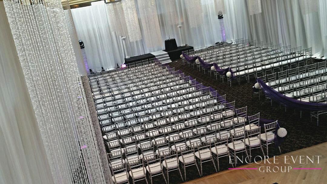 Detroit Ceremony Draping International Banquet Center