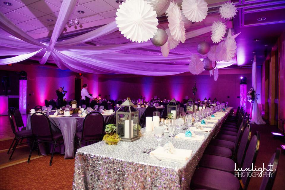 Crystal Mountain Resort Thompsonville Mi Winter Wedding Reception