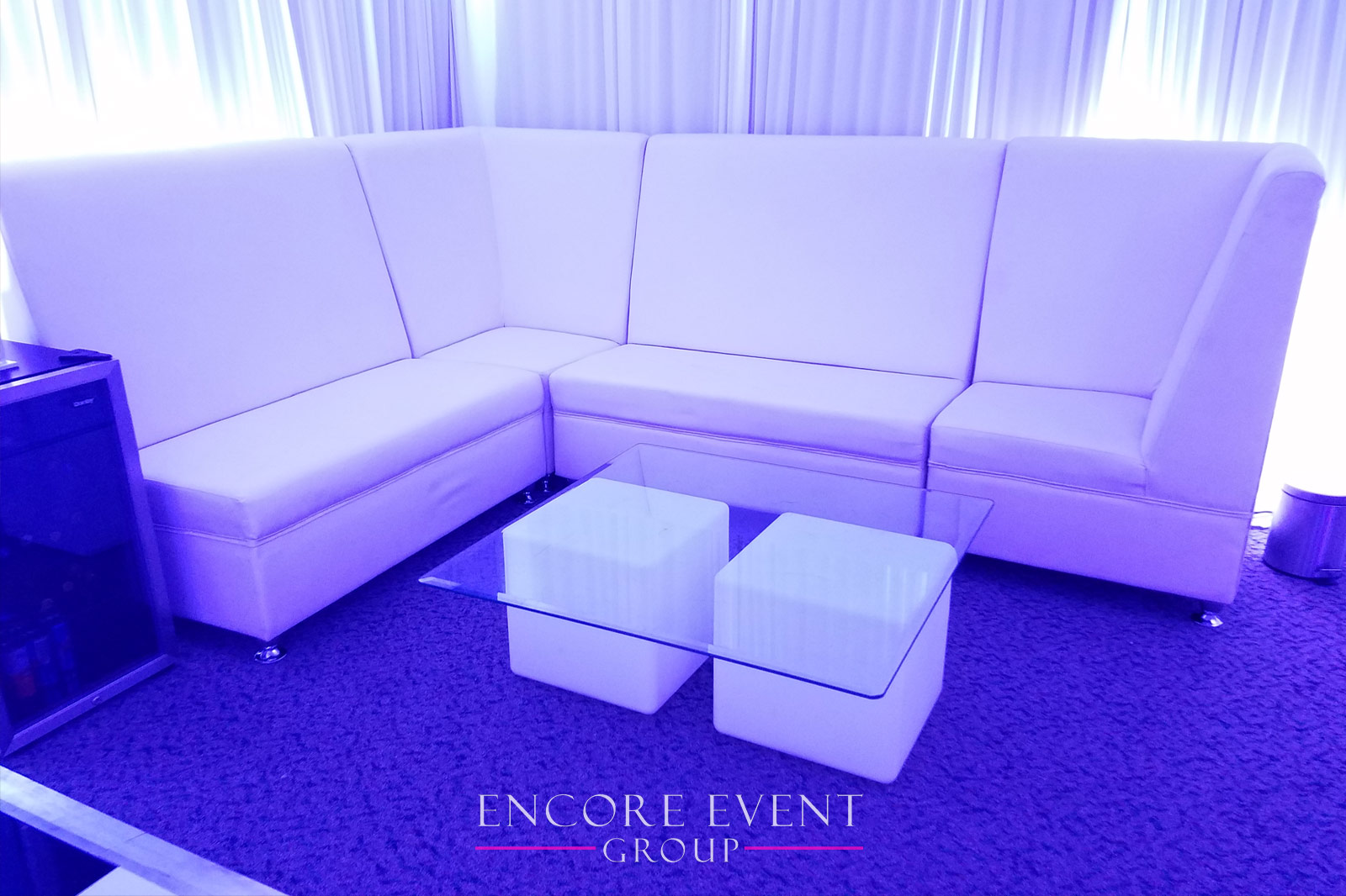 Michigan White Lounge Furniture Rentals | Couches | Thrones