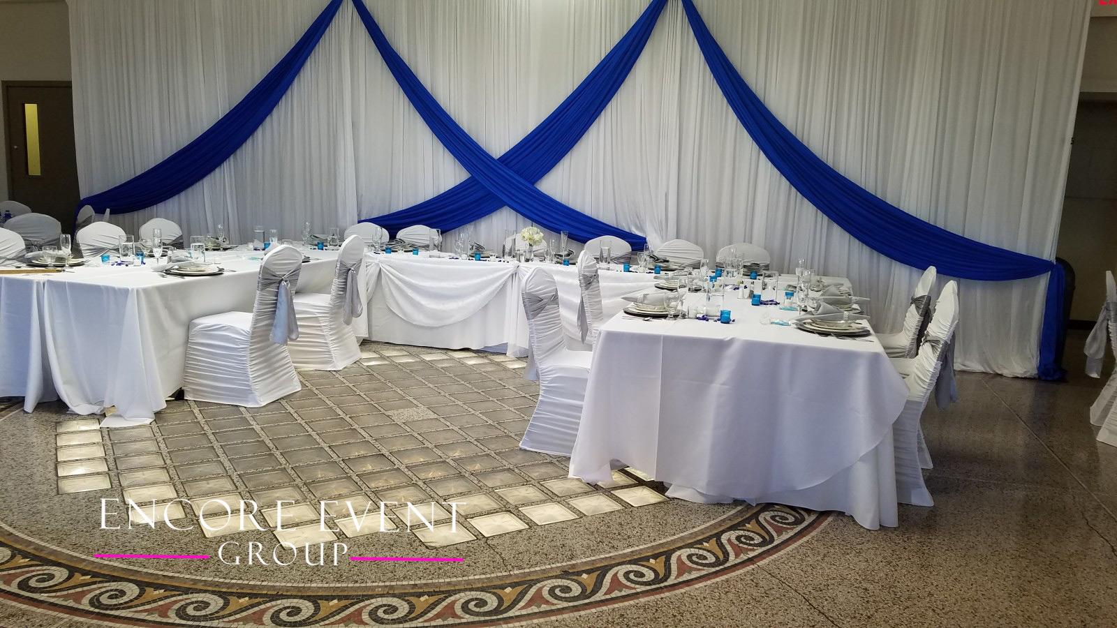 Belle Isle Casino Detroit Wedding Draping Encore Event Group