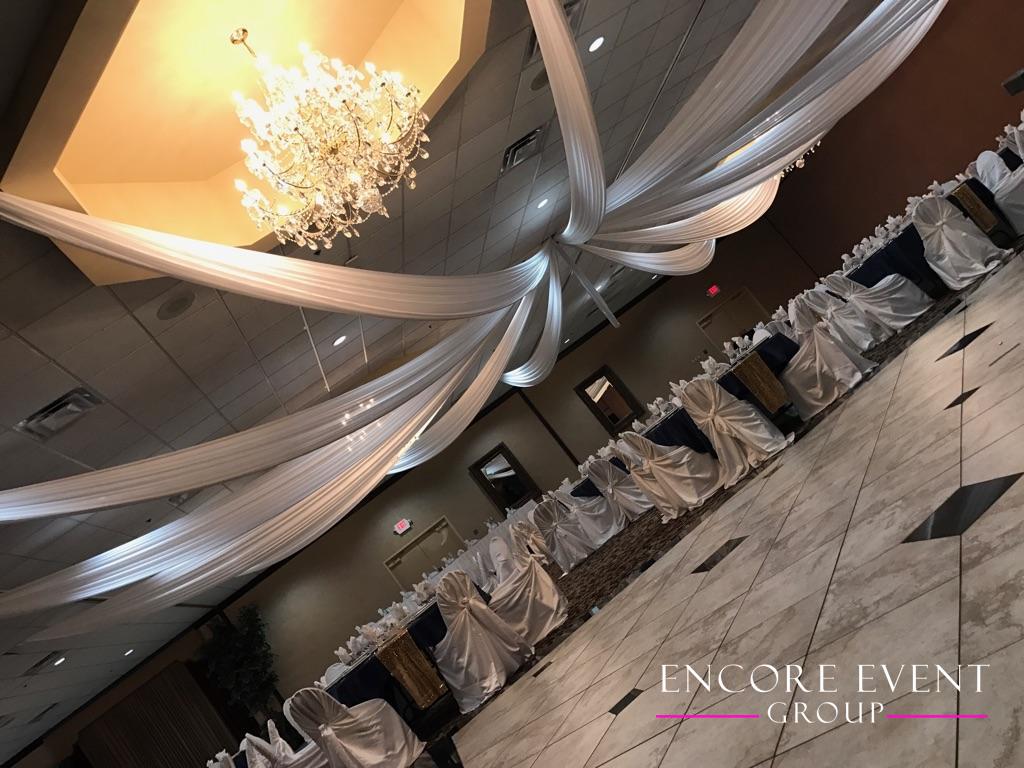 Crystal Gardens Howell Wedding Ceiling Drapes Encore