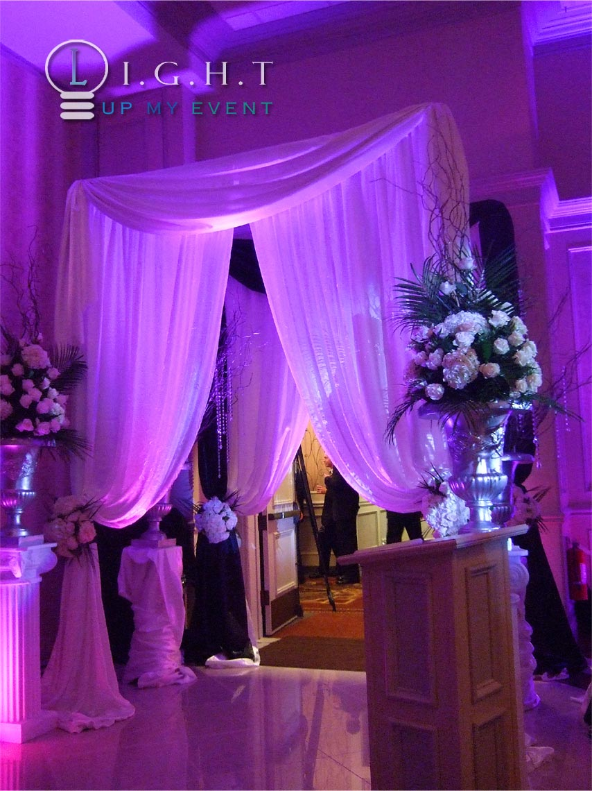 Permalink to Draping For Wedding Receptions